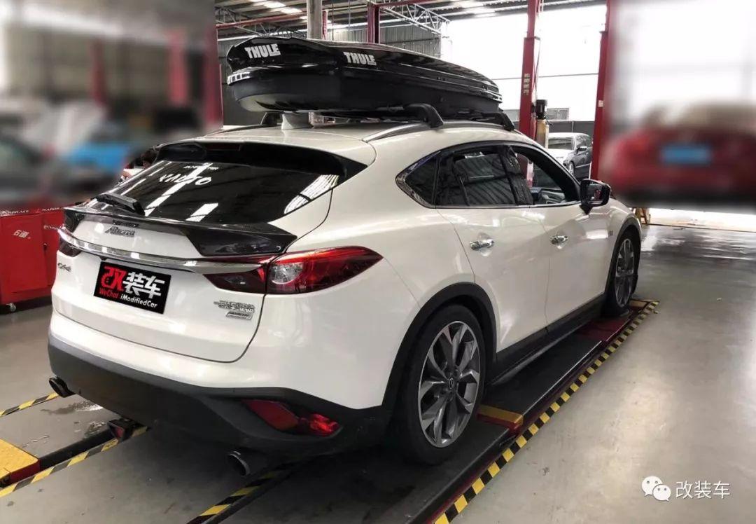 因为中意阿特兹旅行版,车友将马自达CX-4打造成低趴姿态!