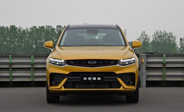 6秒8破百,吉利打造最美轿跑SUV星越,能否胜任国产轿跑王?