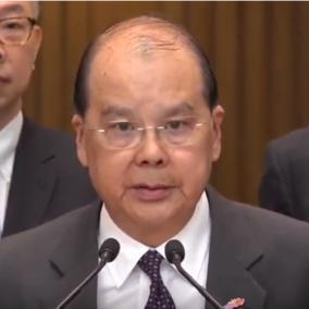 香港政务司司长:罢工对港没好处 冀港人坚守工作岗位