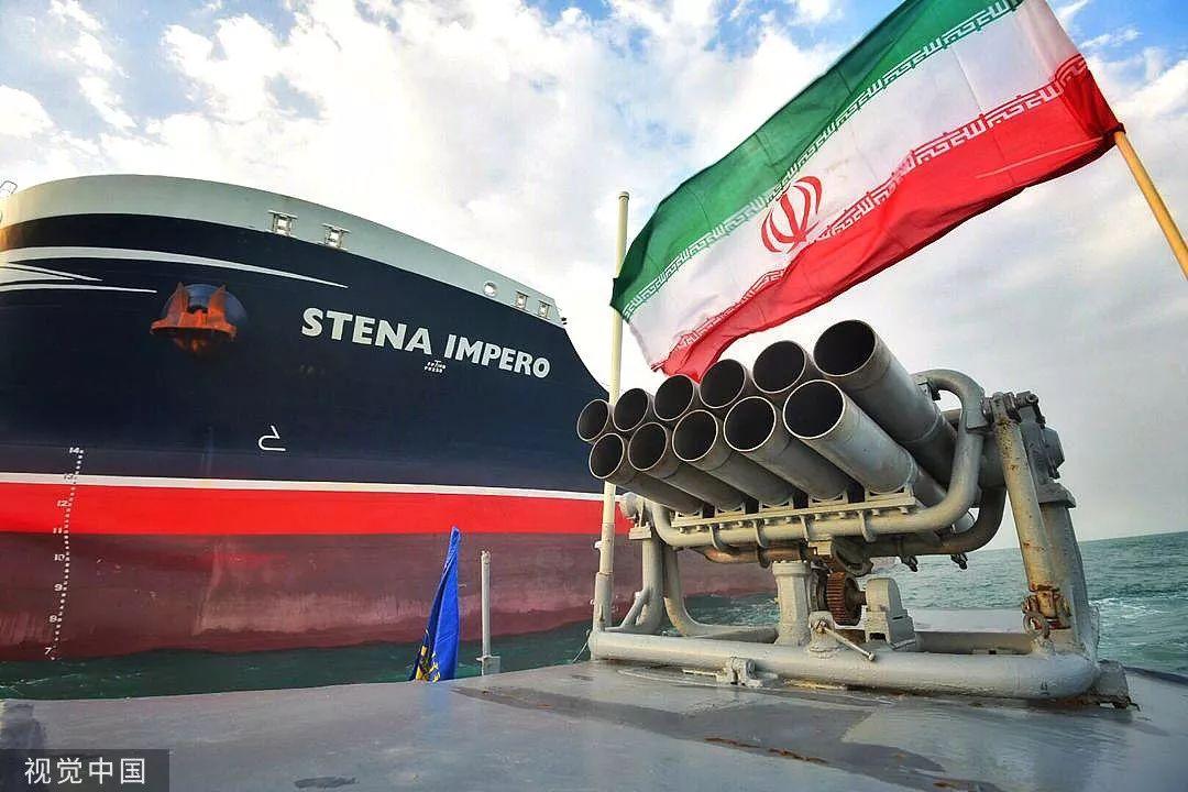 <b>一个月内第三次!伊朗又扣押一艘外国油轮</b>