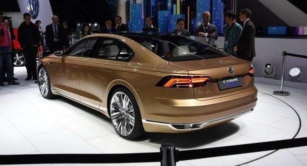 大众又一豪华车,比奥迪A6拉风,车长超5米,8AT+2.6L油耗要火