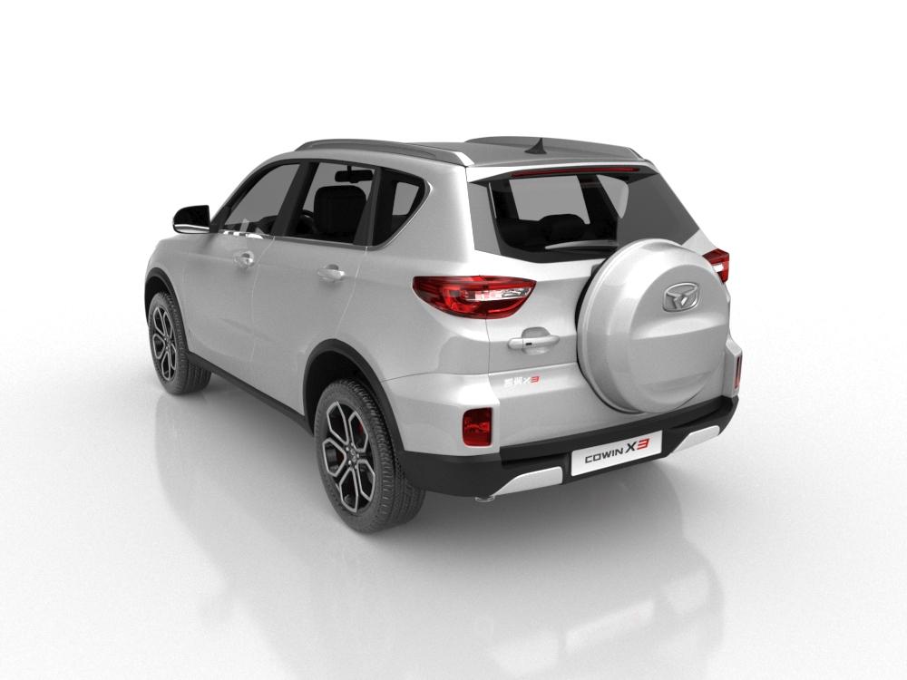 售价区间6.39万-6.89万元 凯翼X3国六版车型上市