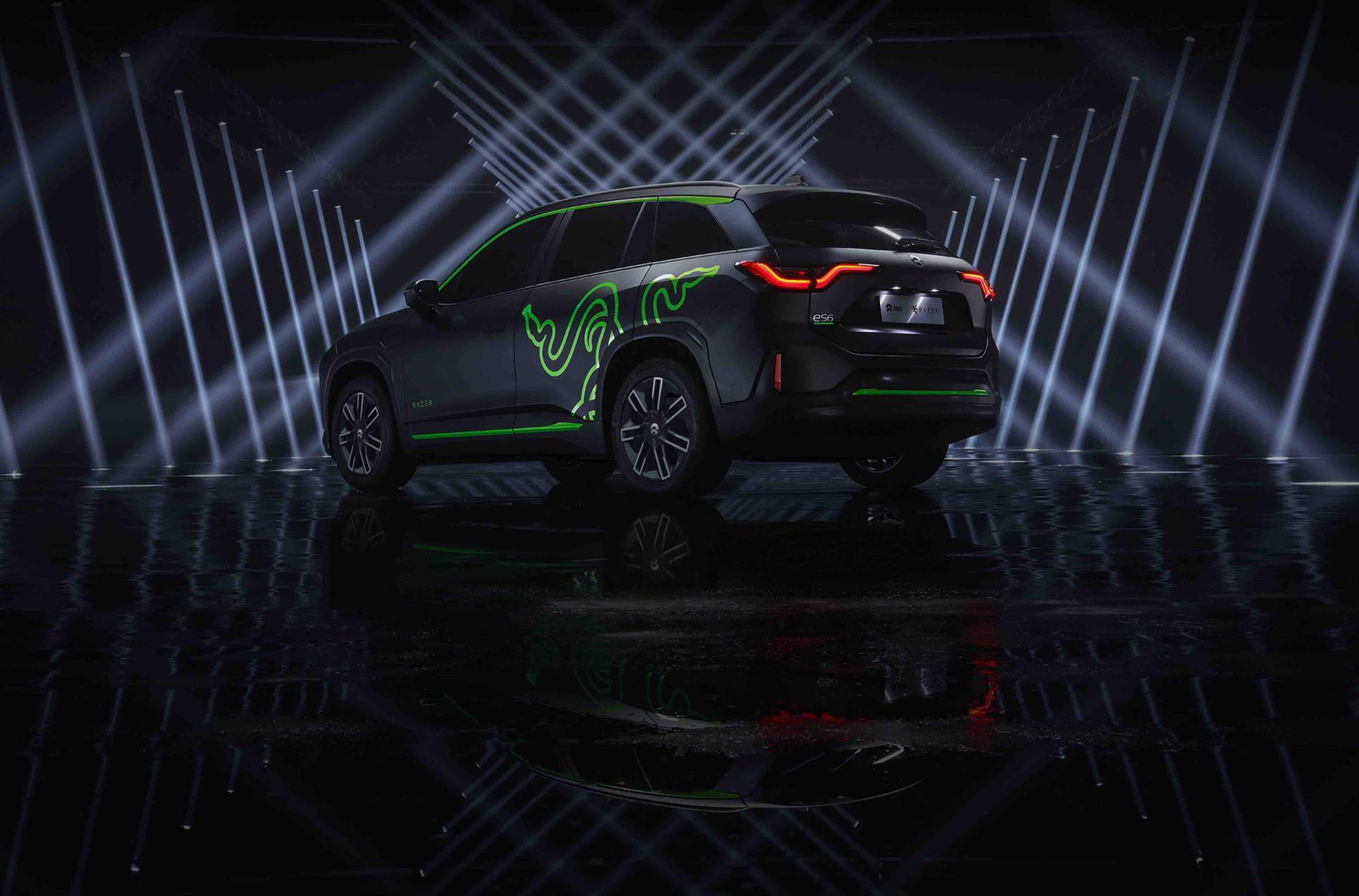蔚来与雷蛇联合推出NIO ES6限量版车型
