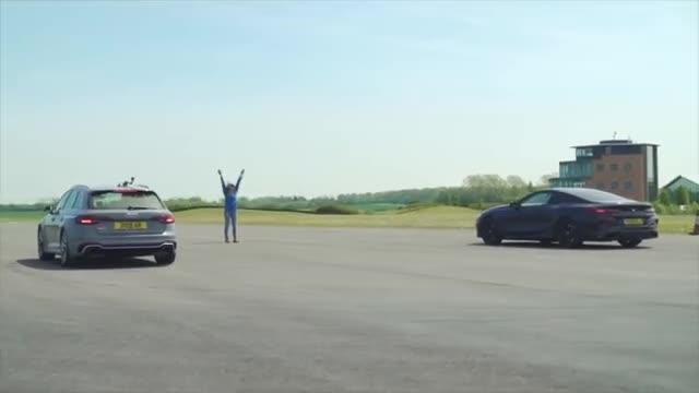 视频:汽车视频:宝马M850i vs 奥迪 RS4