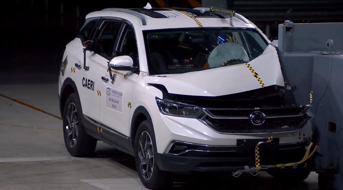 风神AX7或C-IASI测试历史最差,安全气囊担主责,防撞梁有待加强