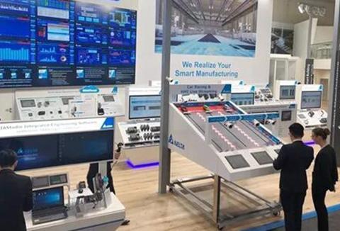 台达物联网架构解决方案亮相德国汉诺威工业展