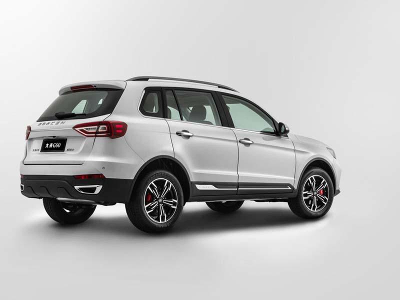 售6.19万元/满足国六排放 大乘G60新车型上市