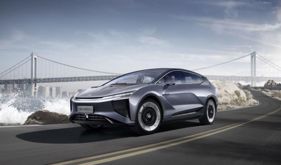 华人运通发布新品牌高合HiPhi 首款量产定型车亮相