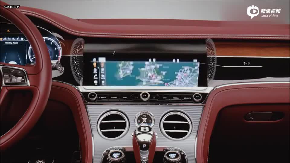 视频:顶级豪华座驾!2019款宾利欧陆GT