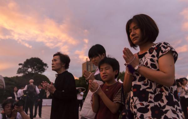 广岛原子弹爆炸74年:和平宣言敦促日本签禁核条约
