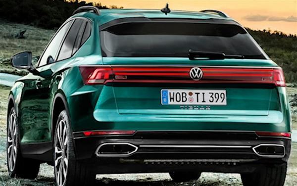 大众轿跑SUV再添新成员,全新途观Coupe将于2022年上市