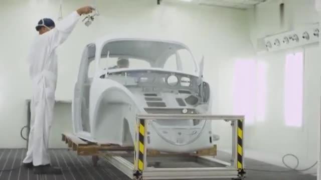 视频:汽车报废,在国外存在吗? 1967年大众甲壳虫修复过程。