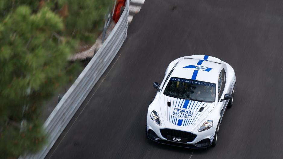马丁电动车Rapide E实为复兴Lagonda试水车