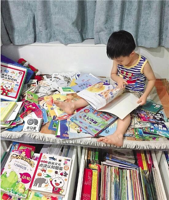 幼儿园男孩一个月看60本书 妈妈做亲子笔记帮打卡|亲子|男孩