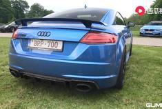 视频:汽车视频:奥迪TTRS 2.5 TFSI。