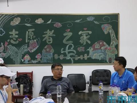 中北大学领导慰问二青会一线工作人员及志愿者