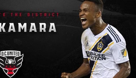 官方:深足前锋卡马拉转会至华盛顿联,转会费250万美金