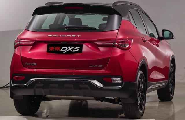 又一款自主高颜值,中方和宾法联合设计,东南DX5正式发布