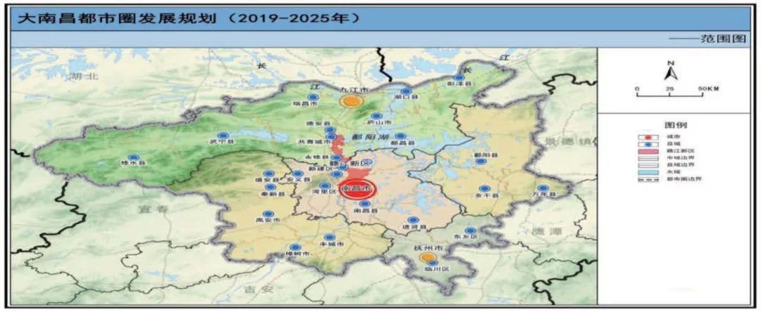 <b>南昌发布都市圈发展规划:支持南昌争创国家中心城市</b>