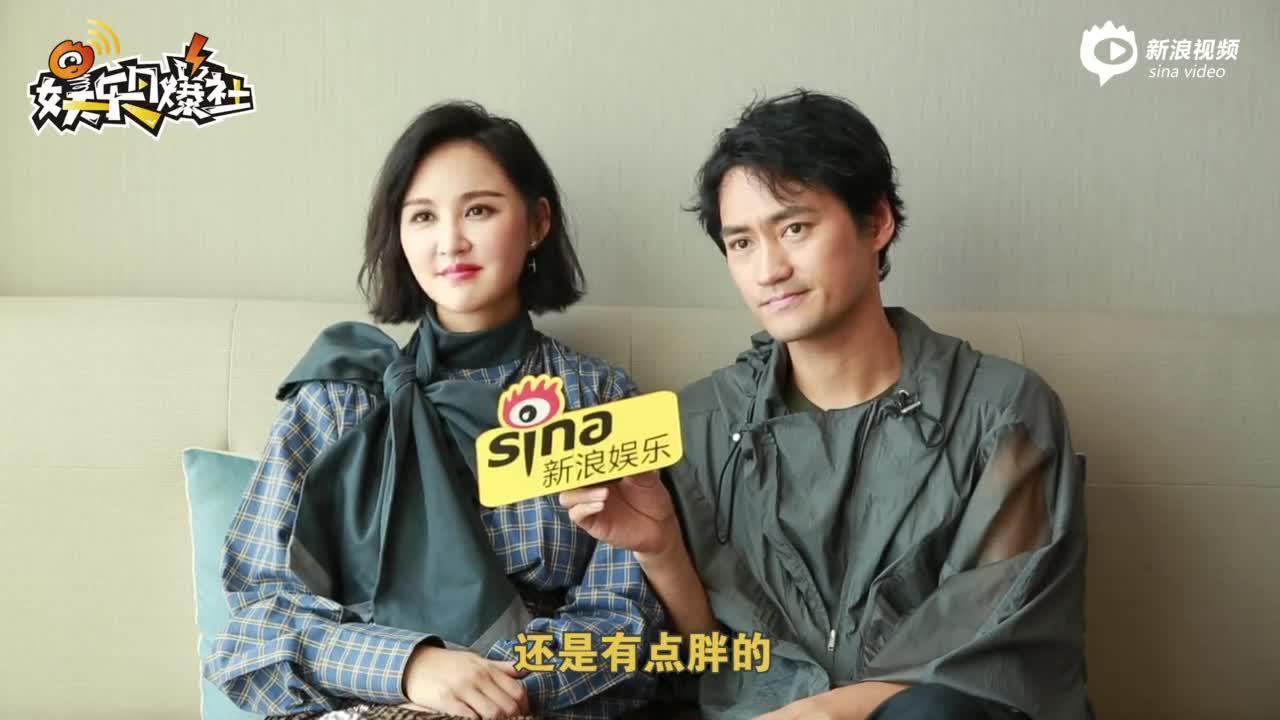 新浪娱乐独家对话张歆艺 袁弘