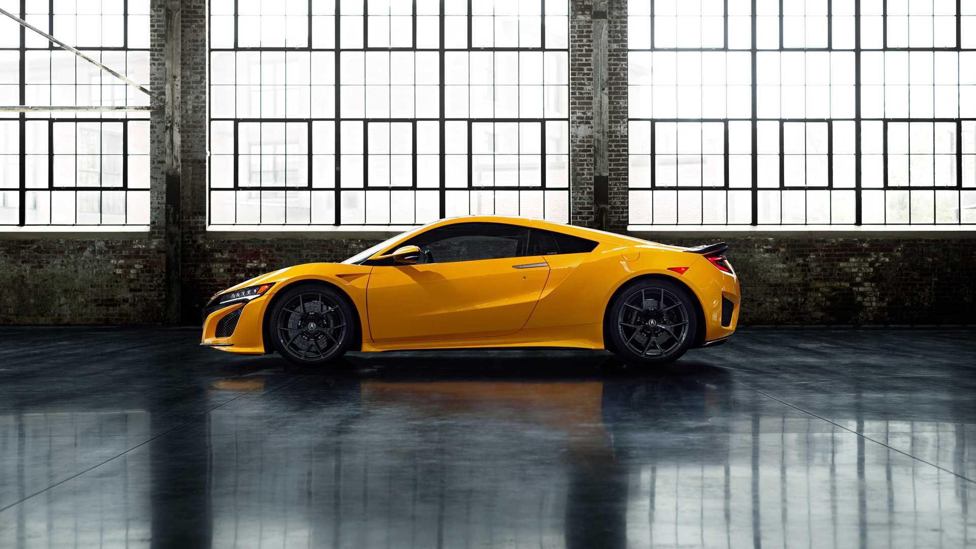 向经典致敬 讴歌NSX加入一款经典车身颜色