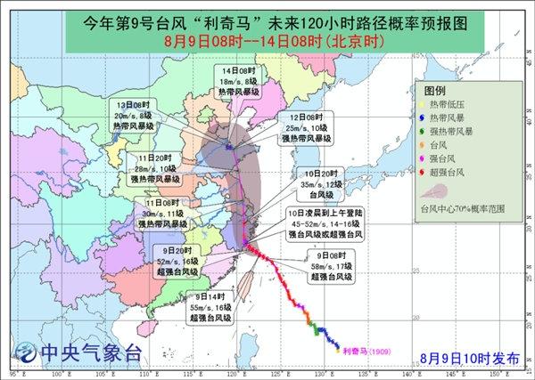 超强台风来袭 中央气象台继续发布台风红色预警|中央气象台