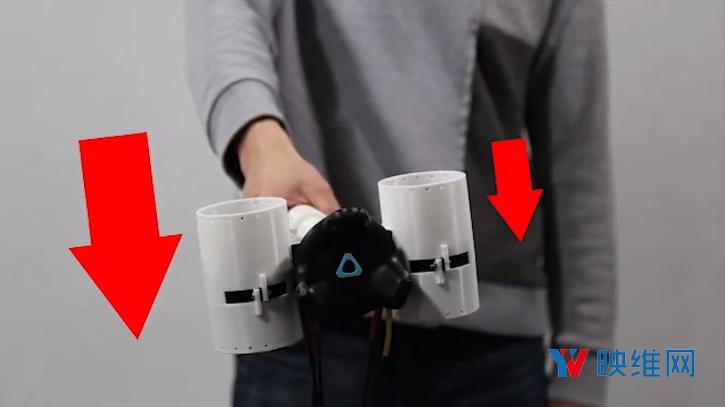 韩国科技院用『风扇型力反馈控制器』模拟重量、质量