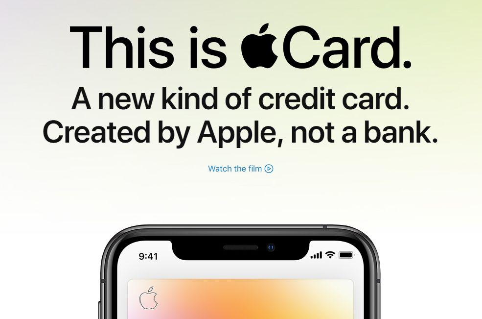 苹果信用卡承诺最低利率并超强隐私保护 但真相存疑