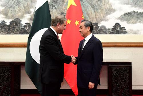克什米尔动荡升级 王毅同紧急来华的巴外长会谈|王毅|巴基斯坦
