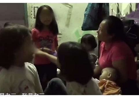 43岁妇女甘当生育工具,10年不离产床狂生8个女儿:就想要个男孩