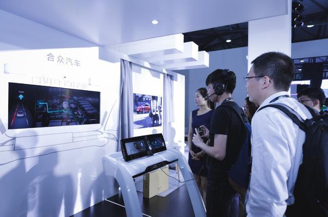 让科技有温度 CES Asia体验合众汽车的PIVOT智能座舱域控制器