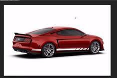 视频:PS大神绘制中置引擎的福特Mustang假想图