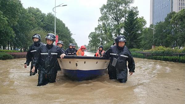 浙江临海洪水已进入平潮期 水位正在逐渐下降|临海|洪水
