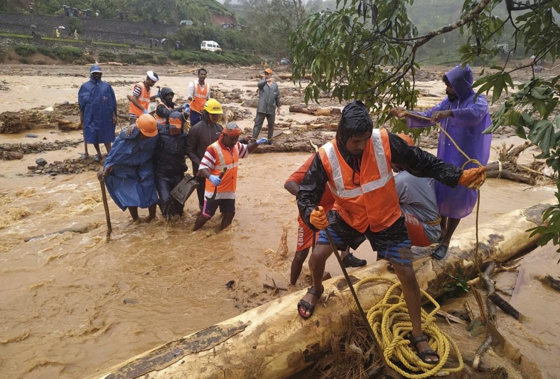 印度喀拉拉邦洪灾死亡人数升至42人,另有多人失踪