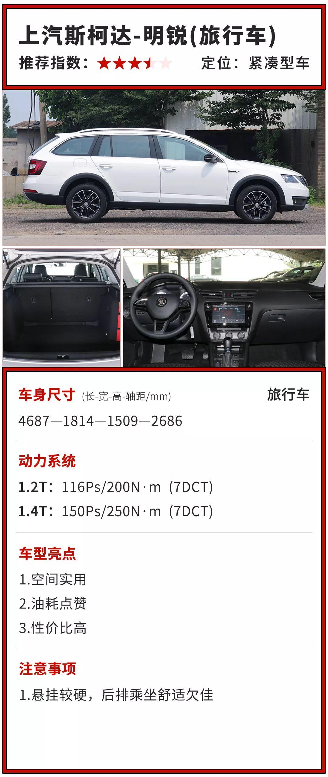 实用不输SUV,操控不输家轿,13万起这些全能车最适合中国家庭