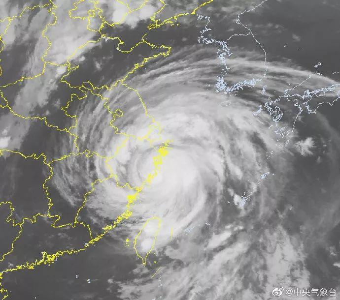 <b>16级台风登陆浙江 温岭近15年首次拉响防灾警报|温岭|浙江</b>