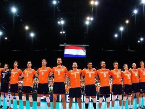 男排资格赛荷兰3-0横扫比利时 阿卜杜勒阿齐兹得21分