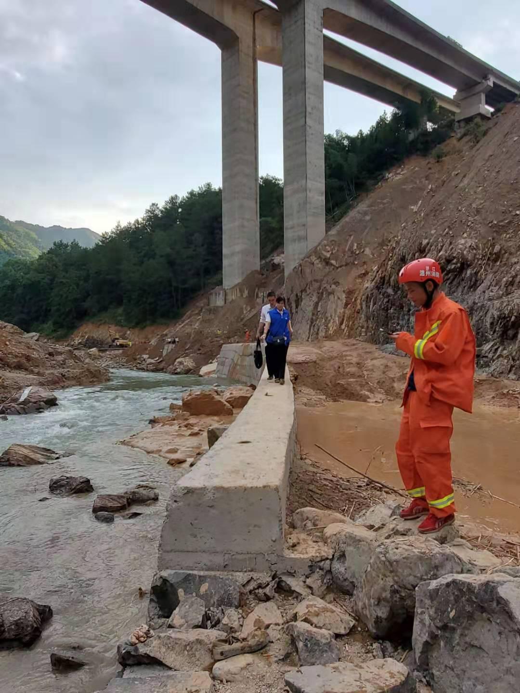 浙江永嘉堰塞湖泄洪口附近一家四口遇难 一人失联|堰塞湖|失联