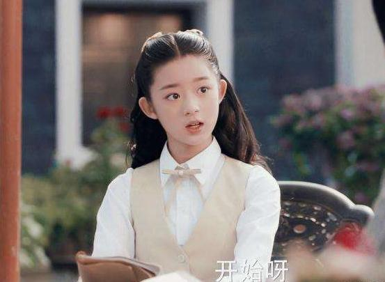杨幂旗下的小童星,名字该怎么读?图片