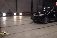 视频:全新Mercedes GLE (2019) Euro NCAP测试