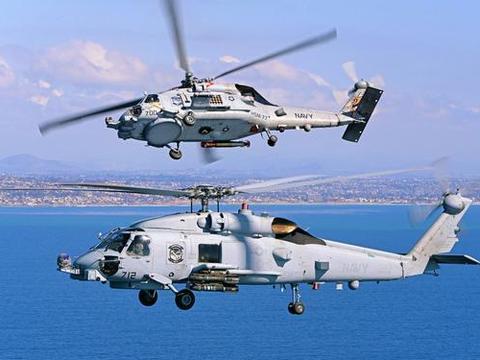 世界顶尖舰载直升机,起飞重量超10吨,可跟踪255个目标