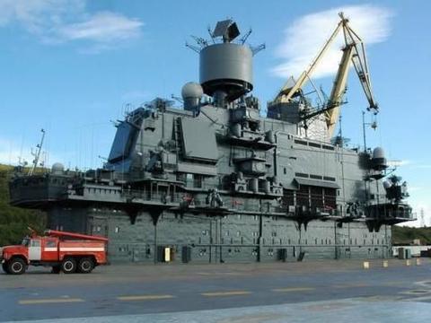 奋战三个月,航母库兹涅佐夫号焕然如新,俄方感谢大国帮助