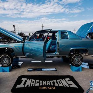 美国伊利诺伊州的改装车展览