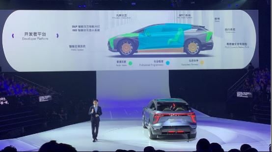 华人运通发布了高合HiPhi1