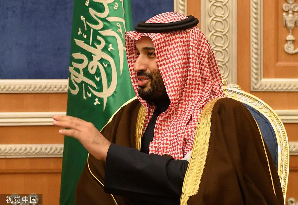 沙特王储萨勒曼。图片来源:视觉中国