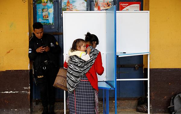 危地马拉选举新总统 与美国的这项协议成焦点|危地马拉|选举