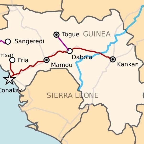 几内亚铁路发展进入快车道 几内亚和布基纳法索商定修建联通两国的铁路线