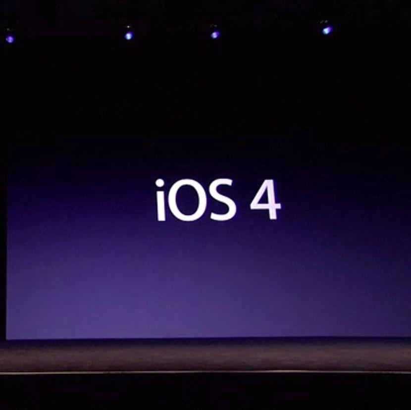 「经典回顾」乔布斯于WWDC2010正式发布操作系统:iOS