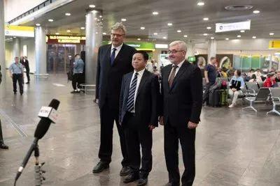 张汉晖卸任外交部副部长 已履新中国驻俄大使