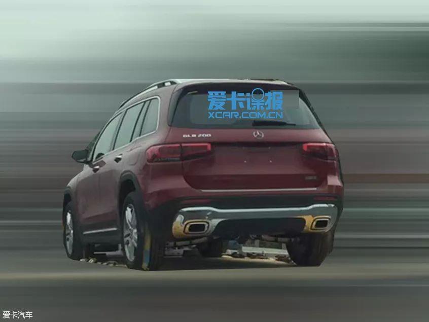 奔驰AMG GLB 35 法兰克福车展首发